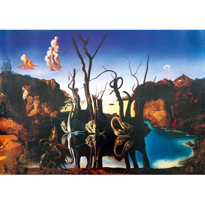 Puzzle Art-by-Bluebird-60105 Salvador Dalí - Swans Reflecting Elephants, 1937