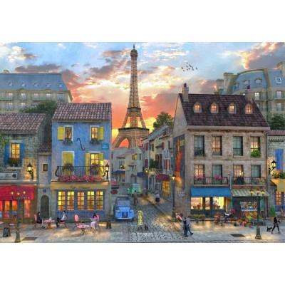Puzzle Bluebird-Puzzle-70111 Streets of Paris