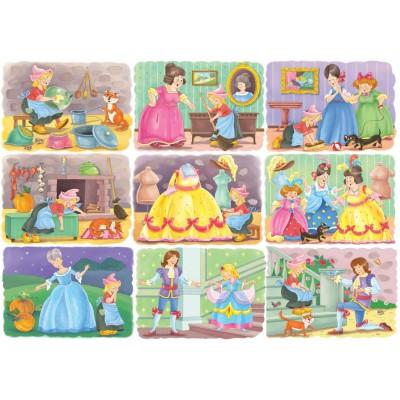 Puzzle Bluebird-Puzzle-70354 Cinderella