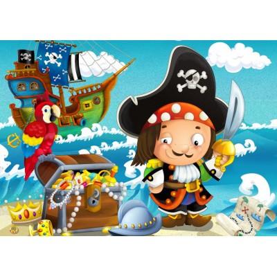 Puzzle Bluebird-Puzzle-70359 The Treasure of the Pirate
