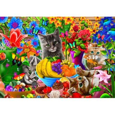 Puzzle Bluebird-Puzzle-70393 Kitten Fun