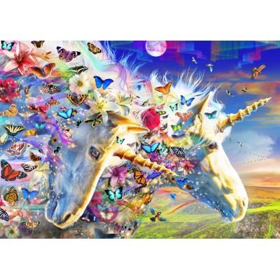 Puzzle Bluebird-Puzzle-70397 Unicorn Dream