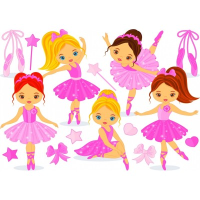 Puzzle Bluebird-Puzzle-70403 Little Ballerinas