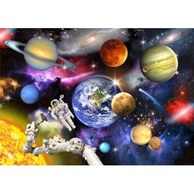 Puzzle Bluebird-Puzzle-70407 Outer Space